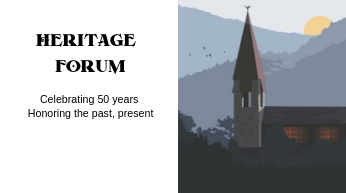 Heritage Forum*The Aspen Chapel is celebrating its 50th Anniversary